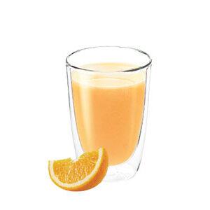 Bebida de soja con naranja de vending