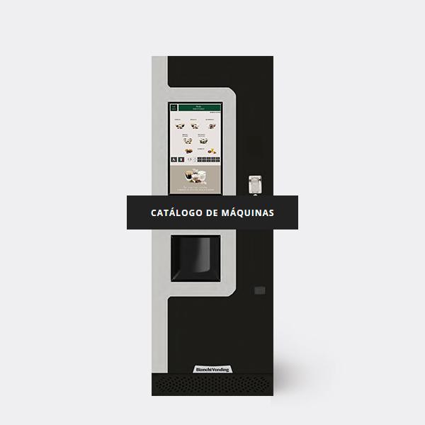 Catálogo de máquinas expendedoras