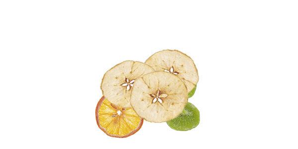Fruta deshidratada de vending