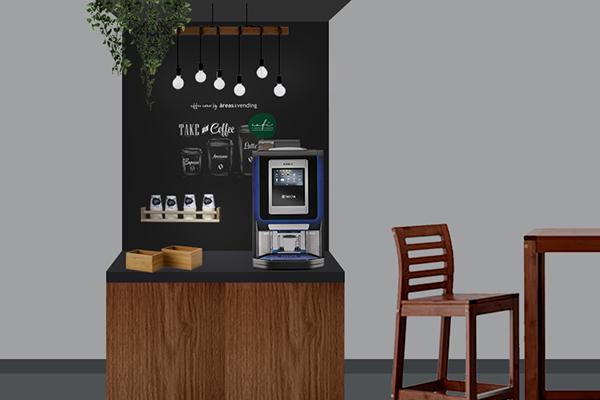 Máquina de vending para hoteles