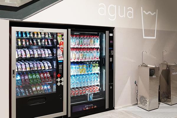 Máquina de bebidas para gimnasios