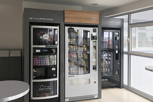 Máquinas de vending para hospitales