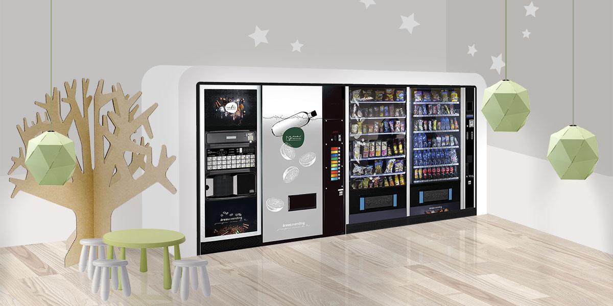 Máquinas expendedoras de café y refrescos personalizadas