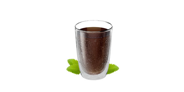 Refresco de cola sin azúcar y sin cafeína