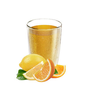 Refresco de naranja sin azúcar