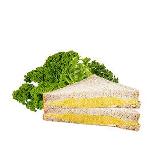 Sándwich integral de humus