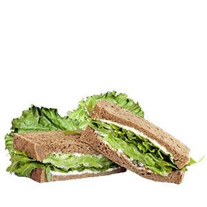 Sándwich integral vegetal de vending