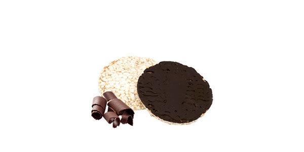 Tortitas de arroz y chocolate