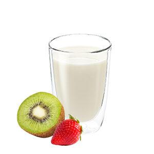 Yogur para beber de vending